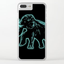 Elephant Light4 Clear iPhone Case