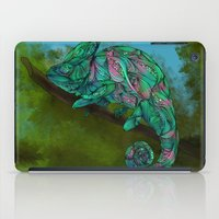 chameleon iPad Cases featuring Chameleon by Ben Geiger