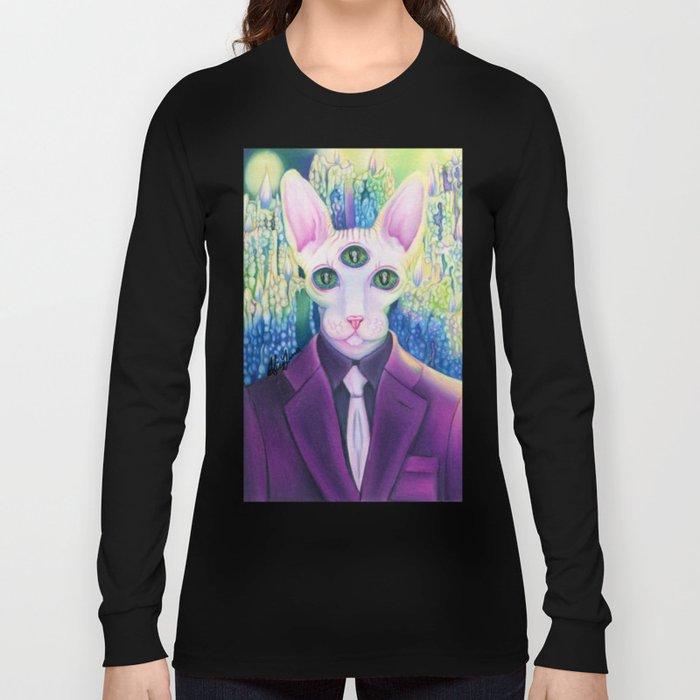 kitty like light Long Sleeve T-shirt