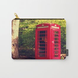 Telephone box in the forest Carry-All Pouch