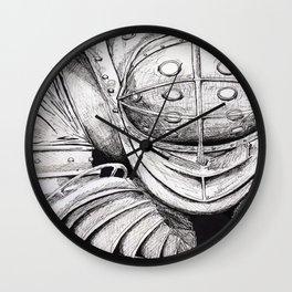 Mr.Bubbles Wall Clock