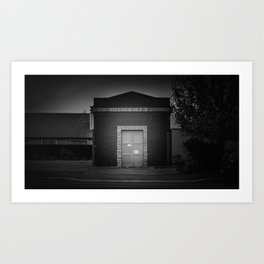The Christchurch Electricity Substation Project XX Art Print