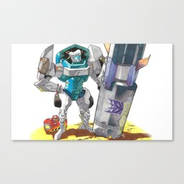 Bomb Disposal Tailgate Canvas Print