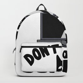 Don´t Worry I´m From Tech Support Funny Cat Backpack