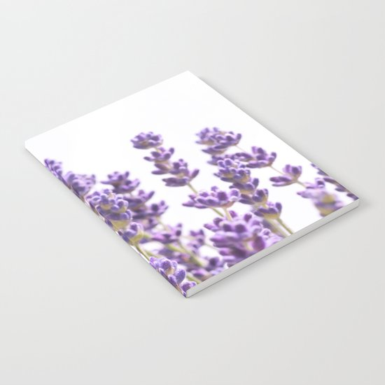 Purple Lavender #1 #decor #art #society6 Notebook