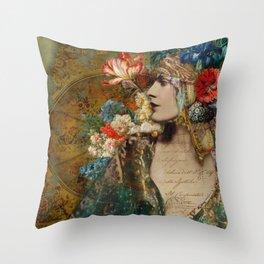 Scheherazade Throw Pillow