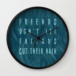 GOOD FRIENDS Wall Clock