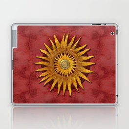 """""""Aztec Sun and pickled coral"""" Laptop & iPad Skin"""