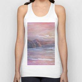 Landscape in Pink MM150601 Unisex Tank Top