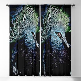 Bird Models: Victoria Crowned Pigeon 01-01 Blackout Curtain