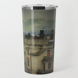 Kathmandu City Roof Tops - Architecture 03 Travel Mug