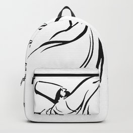 Love Will Find Its Way Through All Languages Rumi Quote Backpack