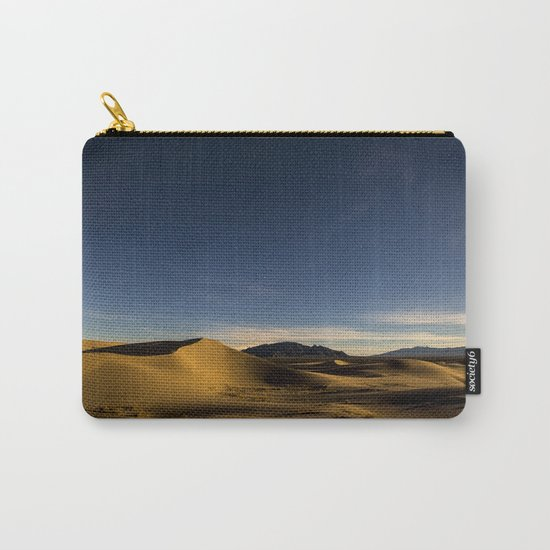 Sand Dunes & Night Sky Carry-All Pouch