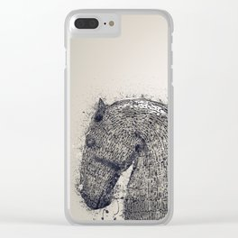 Rise Of The Steel Horses Clear iPhone Case