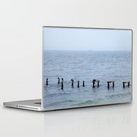 cape cod Laptop & iPad Skins featuring Gull's Perch, Cape Cod by JezRebelle