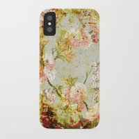 climbing iPhone & iPod Cases featuring climbing flowers by clemm