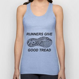 Runners Give Unisex Tank Top