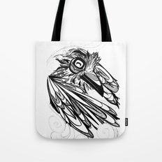 Raven's Escape Tote Bag