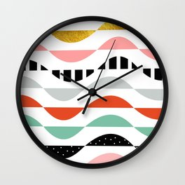 wonders of fall Wall Clock