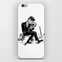 hamlet iPhone & iPod Skins featuring Hamlet by Mike Laughead