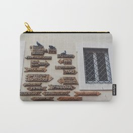 portals .:. roman holiday Carry-All Pouch