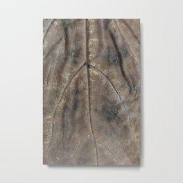 Falling leaf pattern Metal Print
