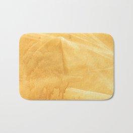Sunny yellow painting Bath Mat