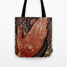 Henna Indian Yoga Buddhism Work Out 2 Tote Bag