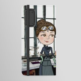 Woman in Science: The Curies Android Wallet Case