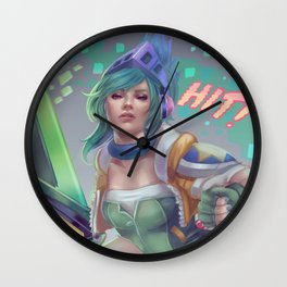 Arcade Riven Wall Clock