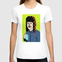 8bit T-shirts featuring Self-8bit by Judge Bockman