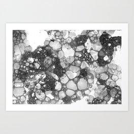 Ink Bubbles, II Art Print