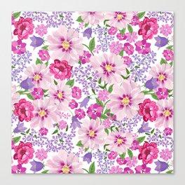 FLOWERS VI Canvas Print