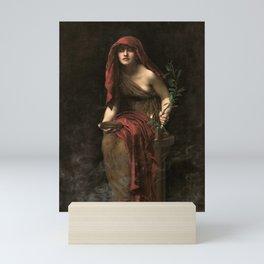 John Collier - Priestess of Delphi, 1891 Mini Art Print