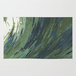 Big Pacific Ocean Wave Rug