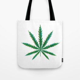 Marijuana. Cannabis leaf  Tote Bag
