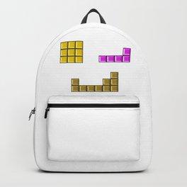 Tetris face #society6 #decor #buyart #artprint Backpack