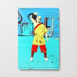 Kung Fu Kid Metal Print