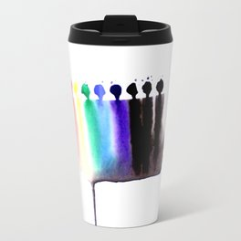Spectrum 2 | Abstract Watercolor Travel Mug