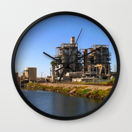 Power Station Wall Clock