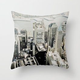 NEW YORK 1 Throw Pillow