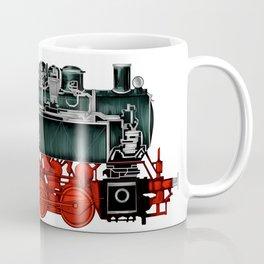 Locomotive Train Railroad Railway Steam Vintage Coffee Mug