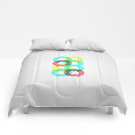 Modern Circles Comforters