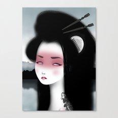 Little dragon Canvas Print