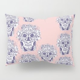 Beautiful right down to the bones-Pink Pillow Sham