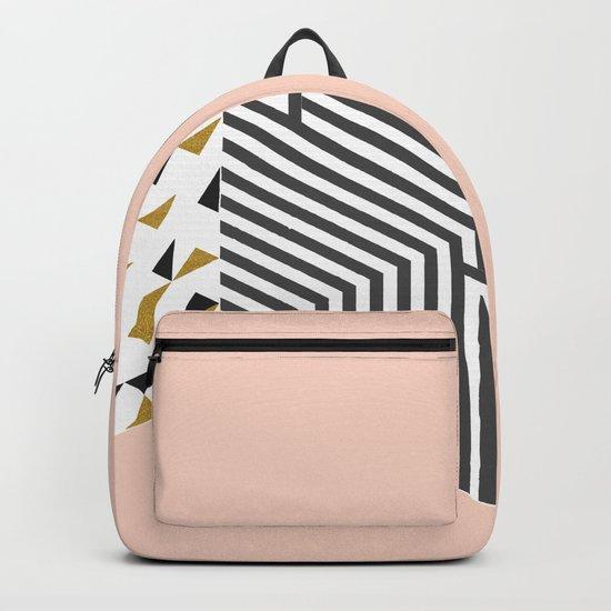 Pink&Gold Room #society6 #decor #buyart Backpack