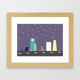 Cidade Framed Art Print