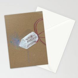 Quartz - These are the things I use to define myself Stationery Cards