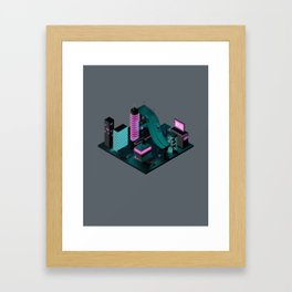 Nippon 2061 Portrait Framed Art Print