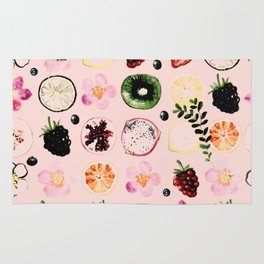 Fruit festival pattern Rug